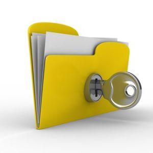 Folder with Trade Secret Information